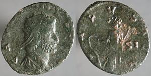 Antoniniano de Galieno. FORTVNA REDVX. Roma Erf_ri2131t