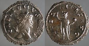 Antoniniano de Galieno. AETERNITAS AVG. Roma Erf_ri2274t