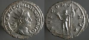 Antoniniano de Galieno. IOVI CONSERVA. Roma Erf_ri2783t