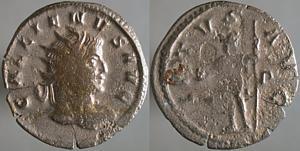 Antoniniano de Galieno. VIRTVS AVG. Roma Erf_ri2831t