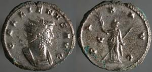 Antoniniano de Galieno. PAX AVG. Roma Erf_ri2947t