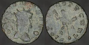Antoniniano de Galieno. IOVI PROPVGNAT. Roma Erf_ri3255t