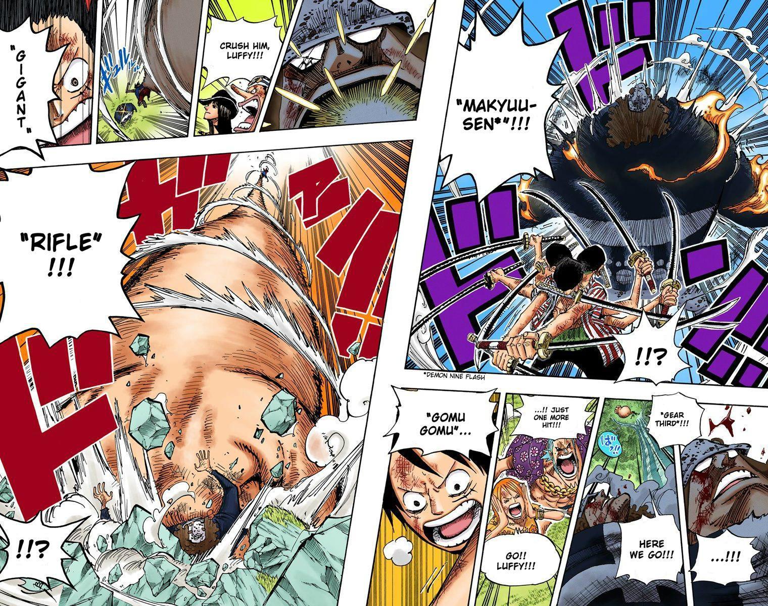 One Piece: Zoro đã sử dụng Haki Bá Vương của mình từ khi nào? One-Piece-game4v-11