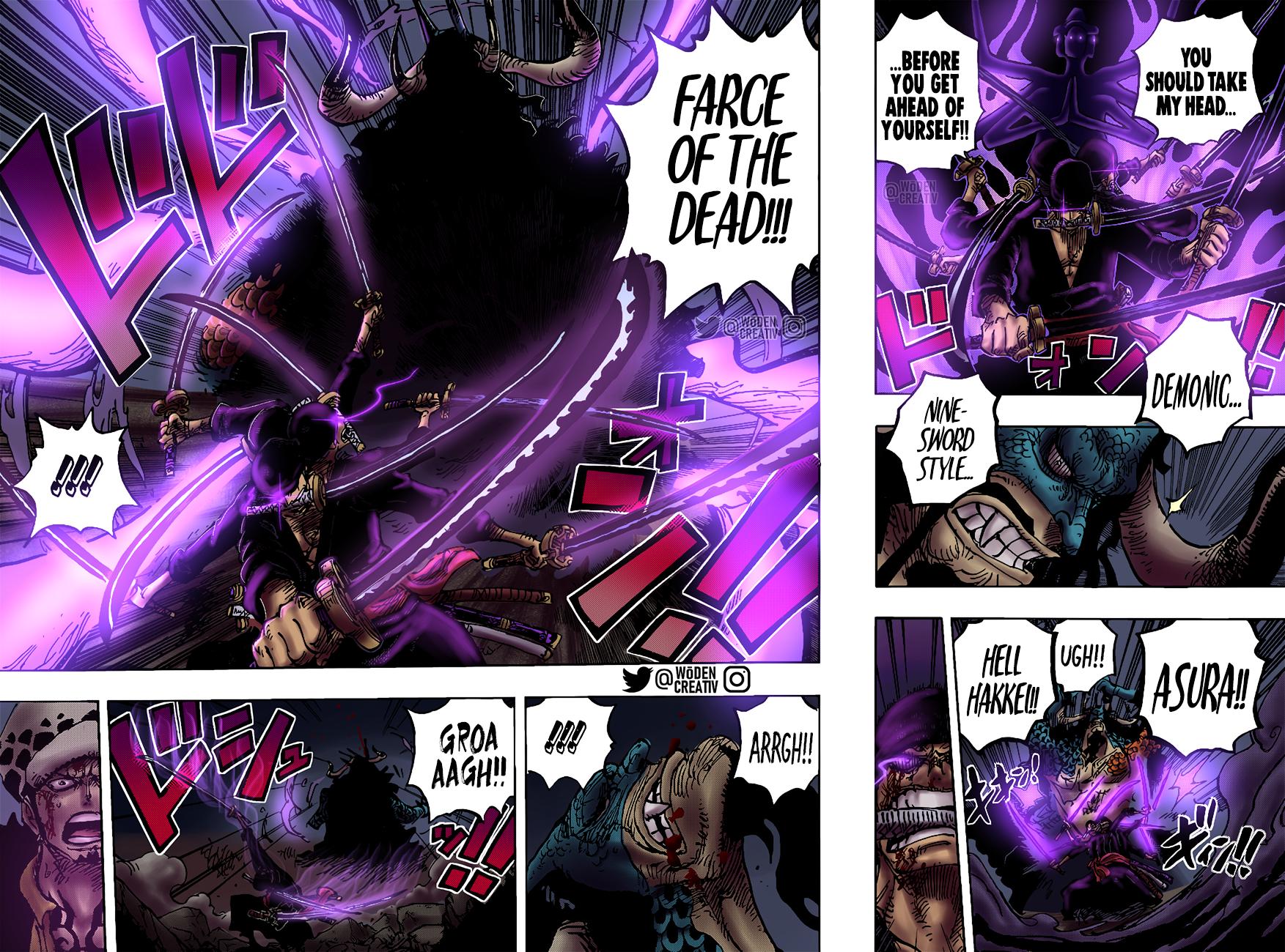 ne Piece: Lý do có thể khiến Haki Bá Vương của Zoro bộc lộ ở Wano Quốc One-Piece-game4v-6