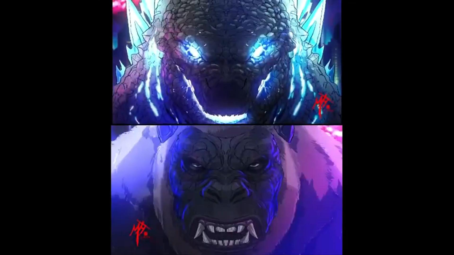 nếu Godzilla vs Kong có một phiên bản anime 2021-05-02
