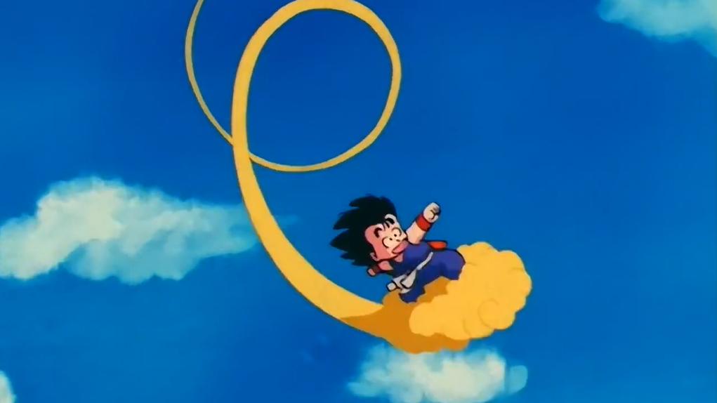 Dragon Ball: Goku có thể làm gì nếu không có sức mạnh của người Saiyan? Goku-nuvem-Dragon-Ball-game4v