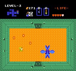 The legend of  Zelda ( Nes ) The-Legend-of-Zelda