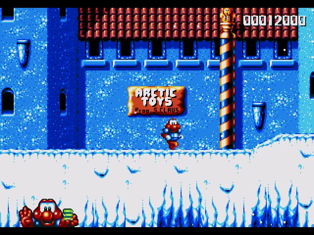 Vos jeux et niveaux où il fait froid préférés James-pond-2-02