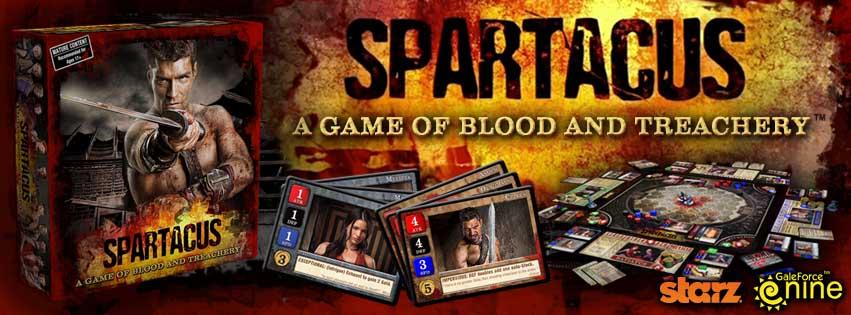 [Cerrada]. Spartacus. Sábado 23 Marzo Spartacus_Board_Game_Banner