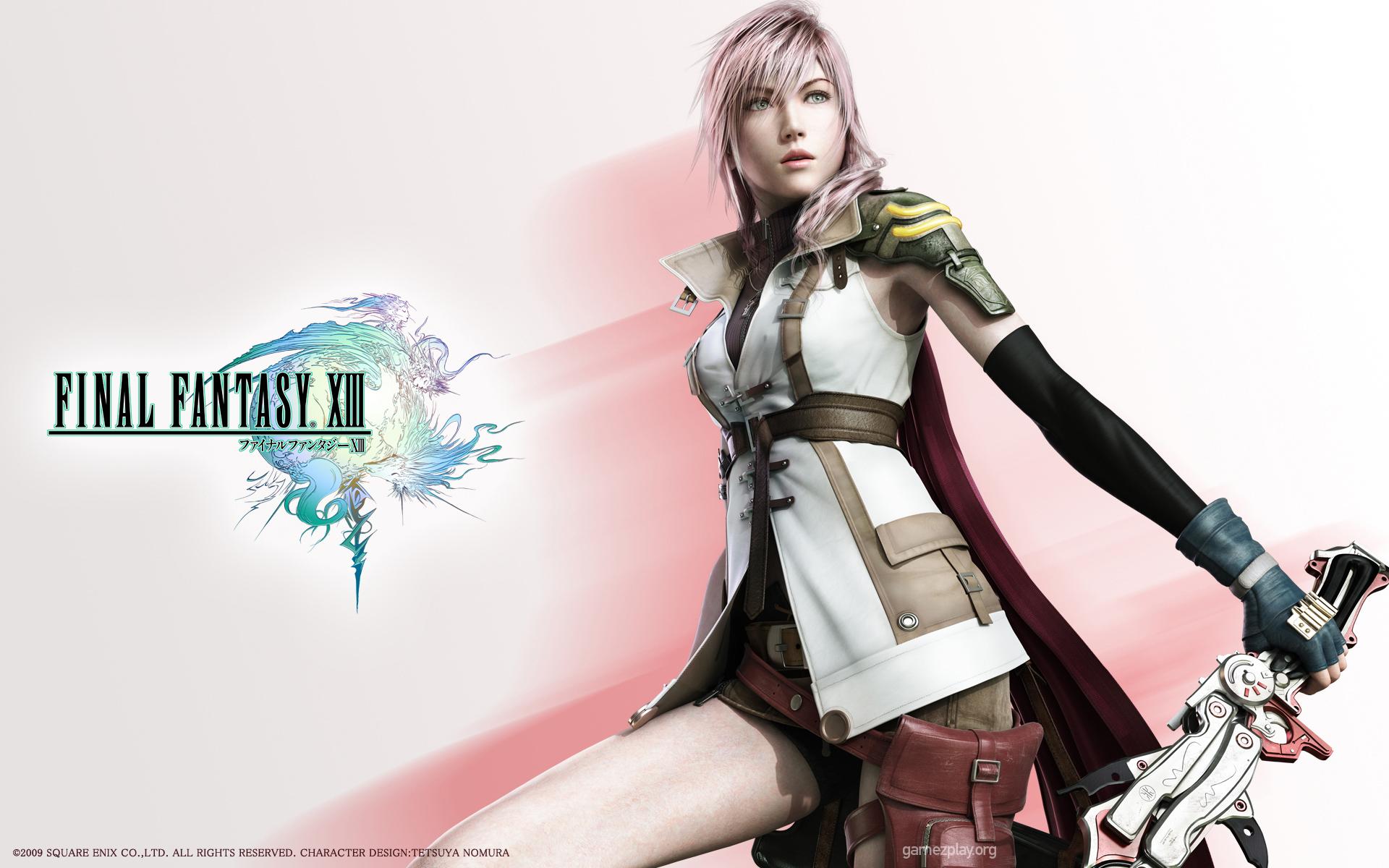 100 Wallpapers de anime HD Final_Fantasy_XIII_Free-9