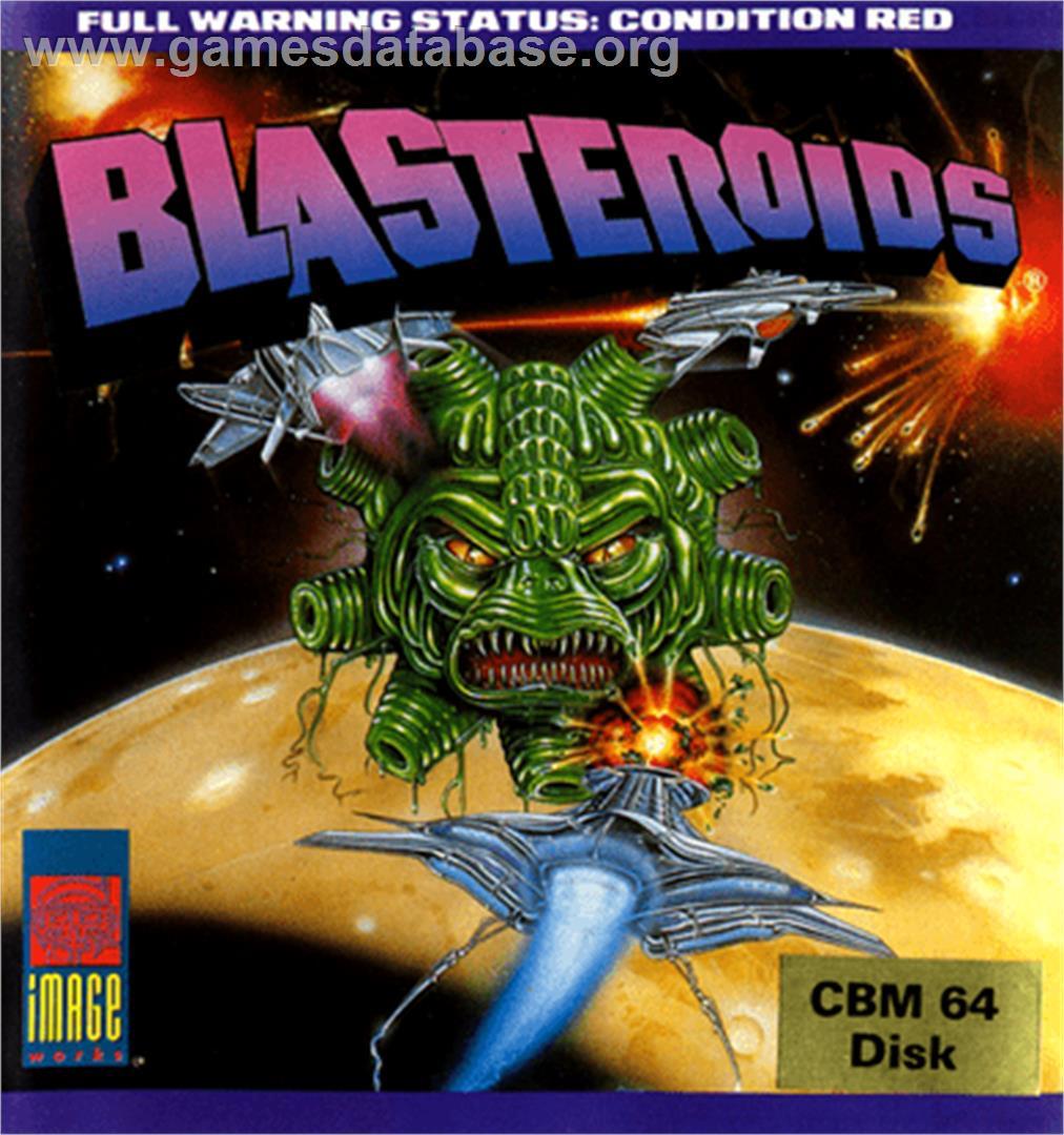 Les plus belles jaquettes du jeu vidéo - Page 5 Blasteroids_-_1989_-_Image_Works