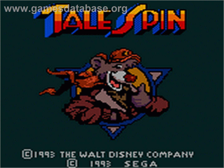 Super Baloo/Talespin (Playmates et autres) 1991 TaleSpin_-_1993_-_Sega