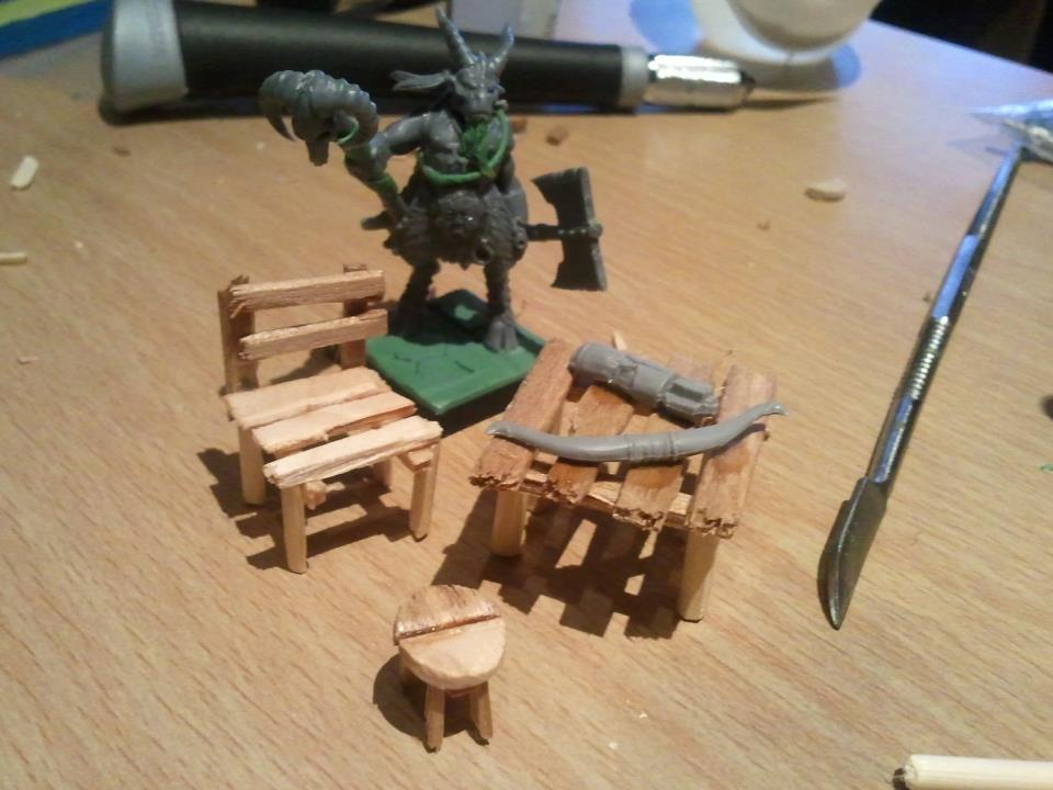 From zero to Mordheim in two weeks... Furniture
