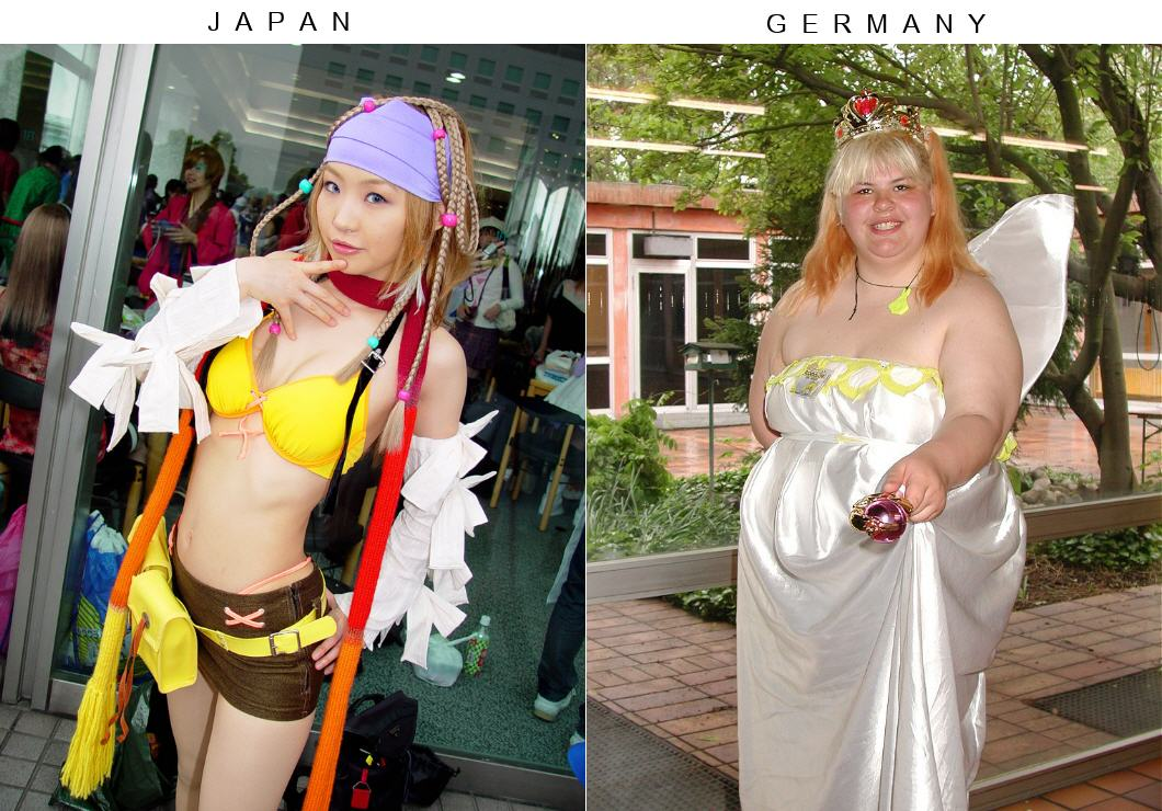 Cosplay au Japon. Le best of!!! - Page 3 Japan-vs-germany