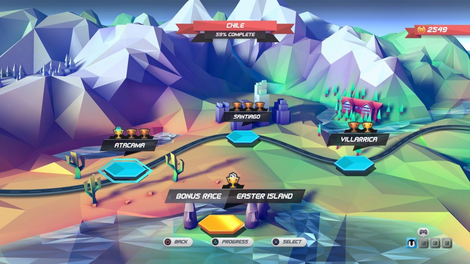 Review: Horizon Chase: Turbo (PS4 PSN) Location-1600x900