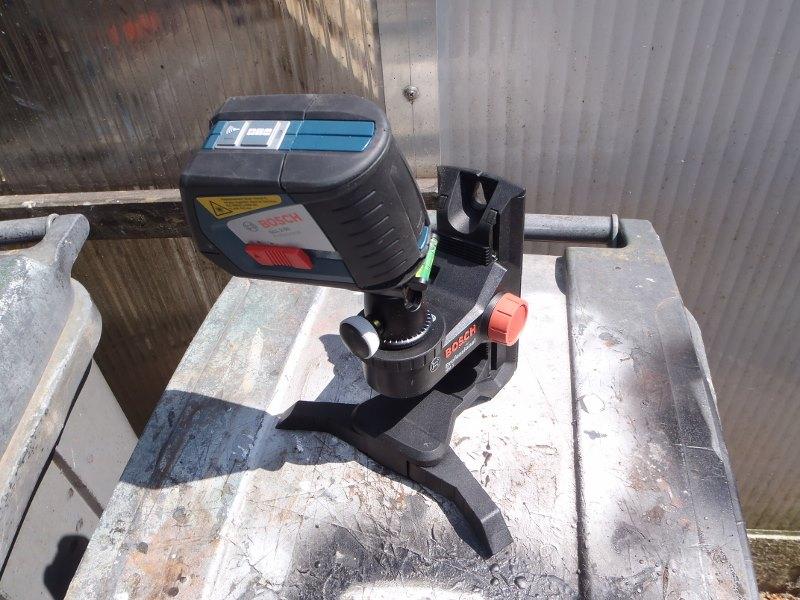 Rotule d'appareil photo sur Laser GLL2-50-02