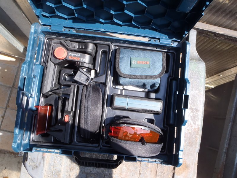 Rotule d'appareil photo sur Laser GLL2-50-03