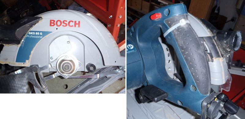 Adapter du Bosch ou du Mafell sur les modules Festool CMS CMS-GKS-12b