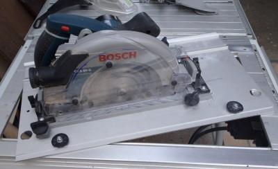 Adapter du Bosch ou du Mafell sur les modules Festool CMS CMS-TS-75-GKS85G01