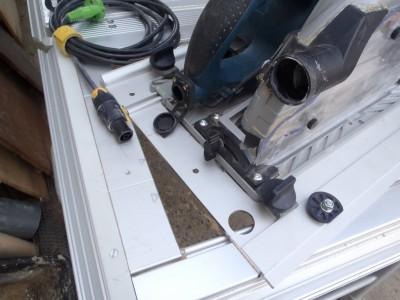 Adapter du Bosch ou du Mafell sur les modules Festool CMS CMS-TS-75-GKS85G02