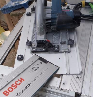Adapter du Bosch ou du Mafell sur les modules Festool CMS CMS-TS-75-GKS85G03