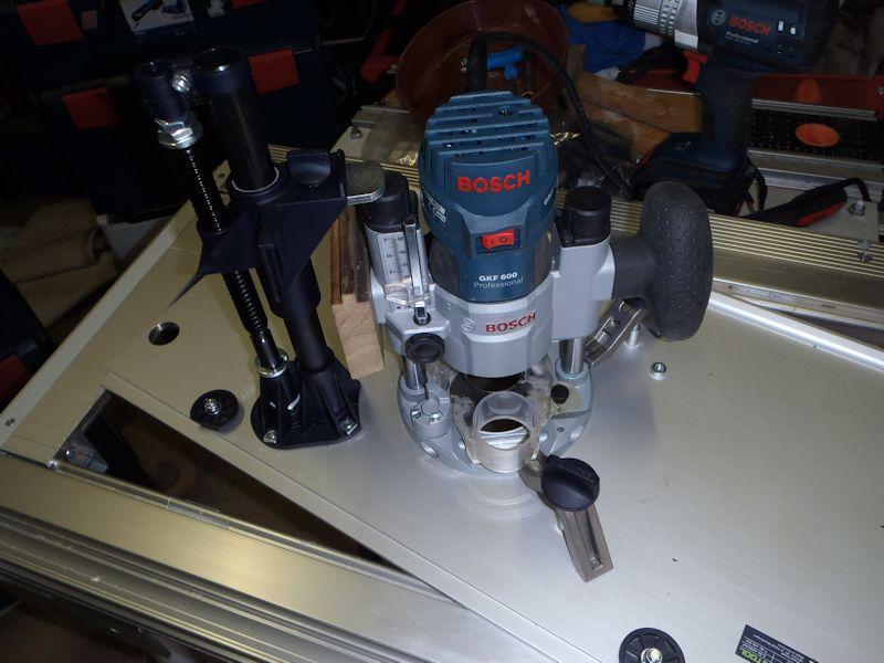 Adapter du Bosch ou du Mafell sur les modules Festool CMS CMS-OF-GKF600-05