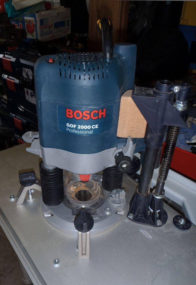 Adapter du Bosch ou du Mafell sur les modules Festool CMS CMS-OF-GOF-2000