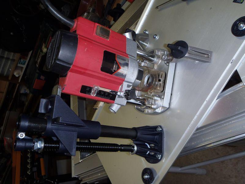 Adapter du Bosch ou du Mafell sur les modules Festool CMS CMS-OF-Power-Action