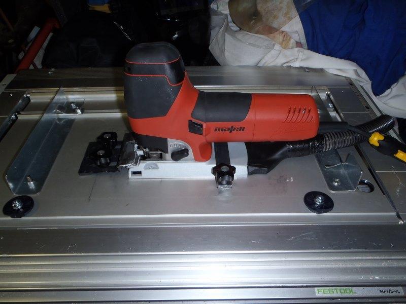 Adapter du Bosch ou du Mafell sur les modules Festool CMS CMS-sauteuse-13