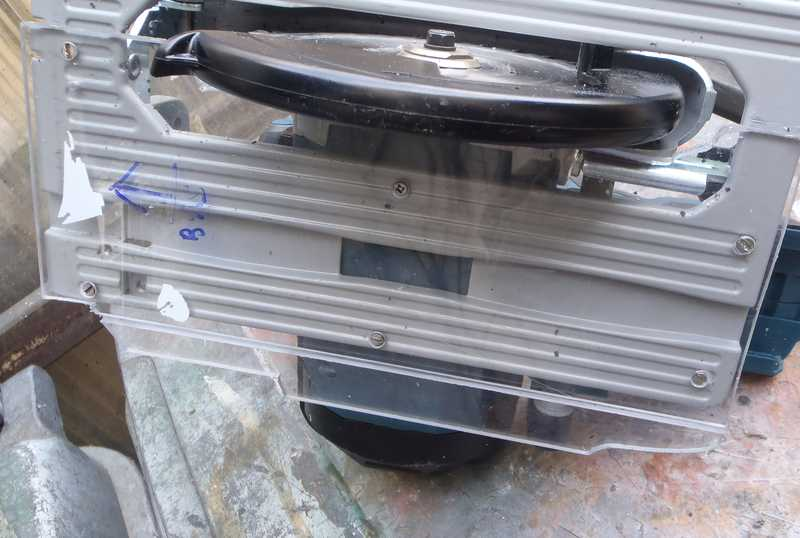 Adapter une scie sur rail de guidage Bosch/Mafell Tk-scie-sur-rail-05