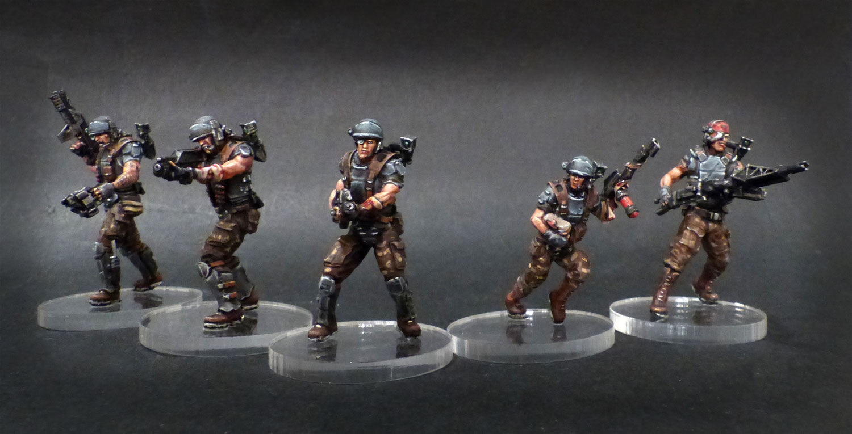 Figurines !! Peintures et sculptures. Marine-groupe-1