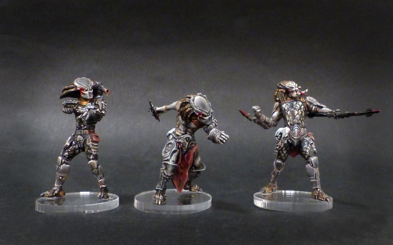 Les travaux d'Ivankaiser : ZOMBICIDE, Gohan et sa bande ! - Page 2 Predator