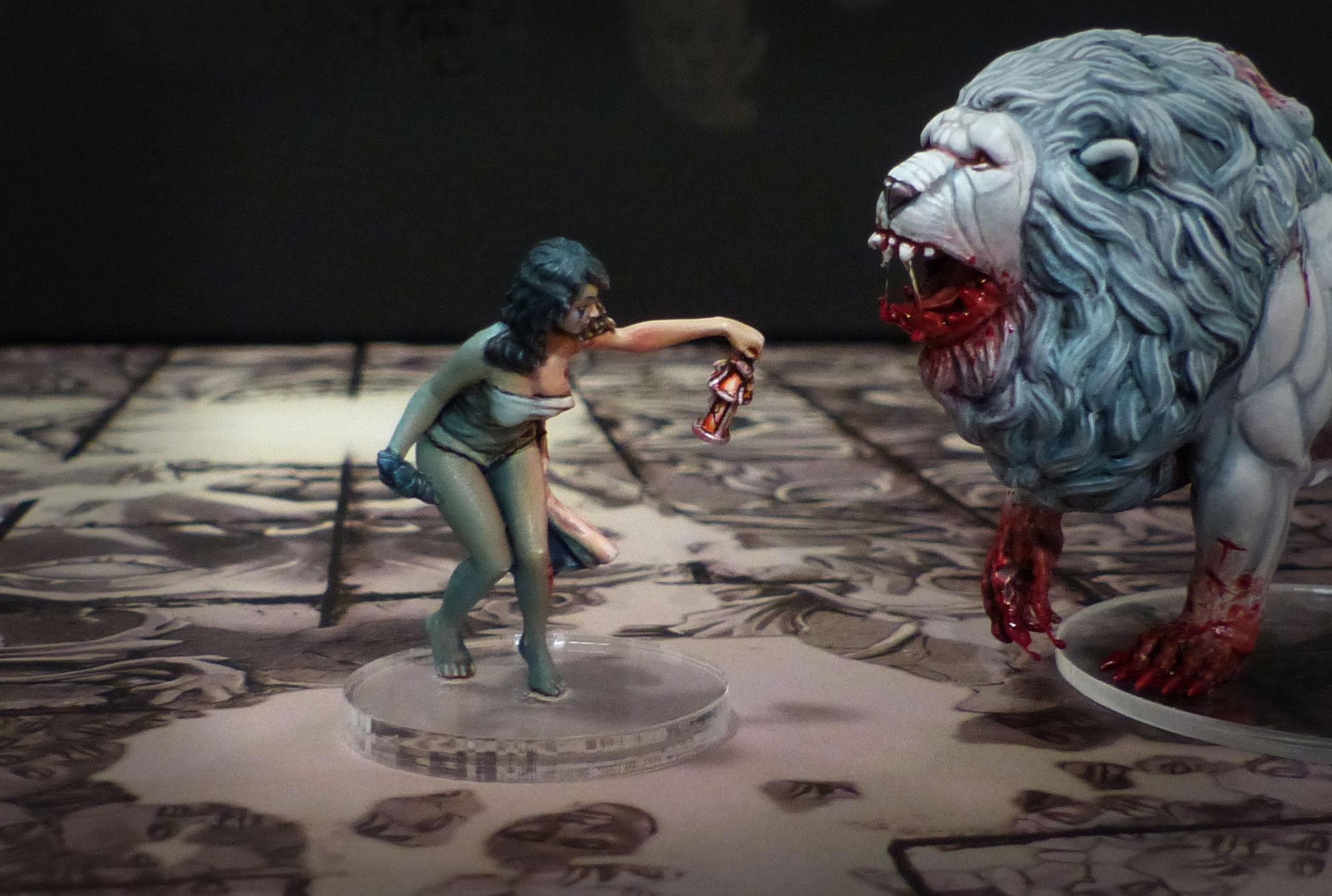 Figurines !! Peintures et sculptures. Survivante9