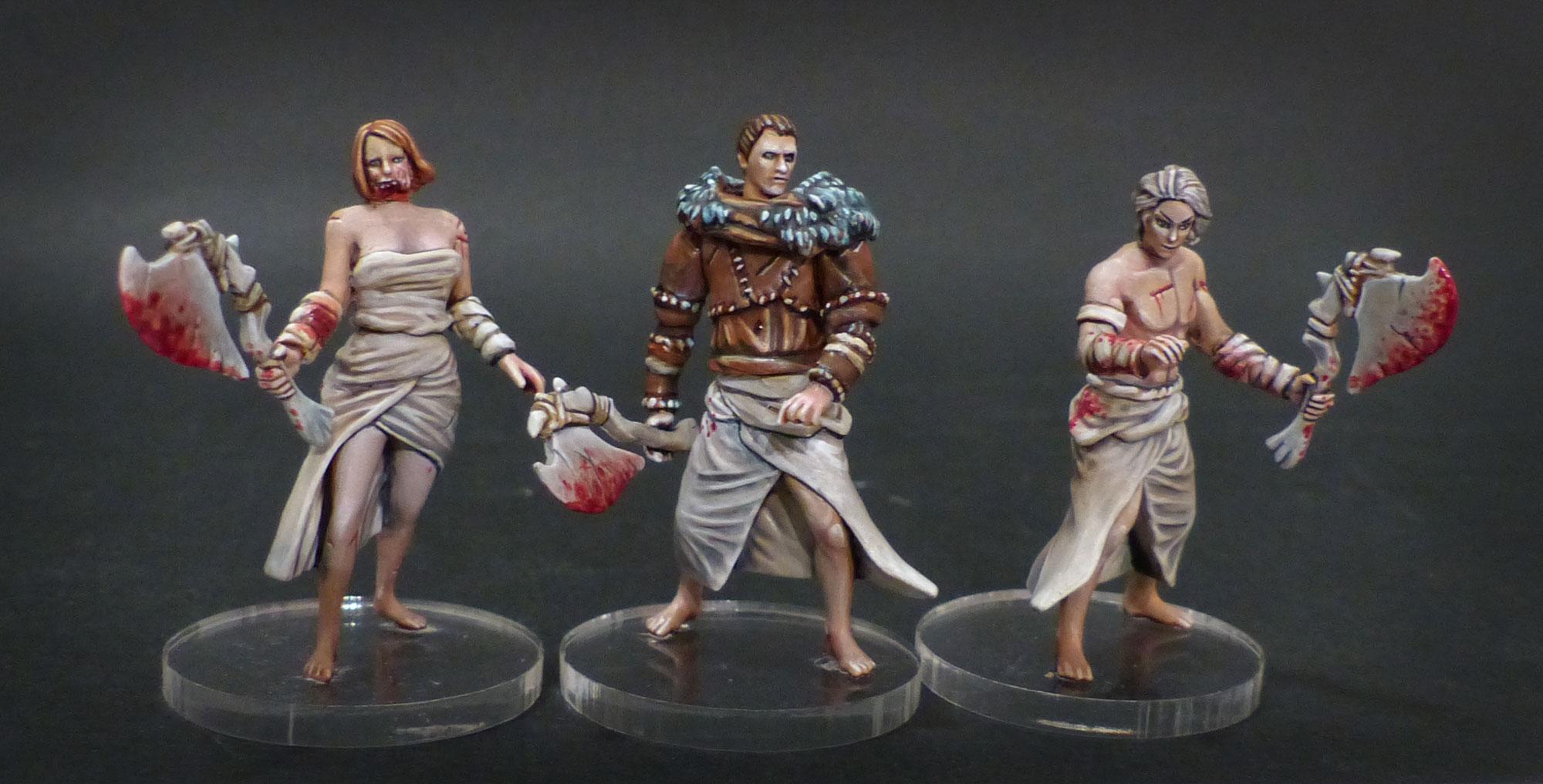 Les travaux d'Ivankaiser : ZOMBICIDE, Gohan et sa bande ! - Page 5 Survivants-kingdom-death-1