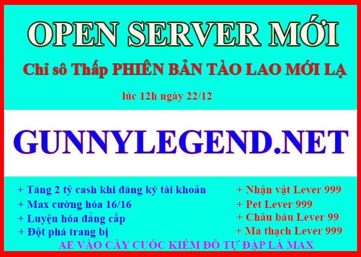Open server Chỉ Số >> == THẤP== << Chuẩn cày cuốc. CHỨC NĂNG MỚI LẠ AE VÀO TEST THỬ XEM NHÉ 0c7df2cc-a938-4edb-be41-0012f34454f8