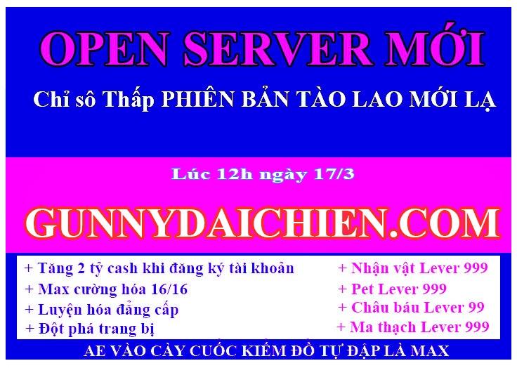 Open server Chỉ Số >> == THẤP== << CHỨC NĂNG MỚI LẠ Faebb99e-f2d8-4309-bc25-de44897a5655