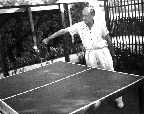 Ca déraille ? - Page 3 Schoenberg_pingpong_1930