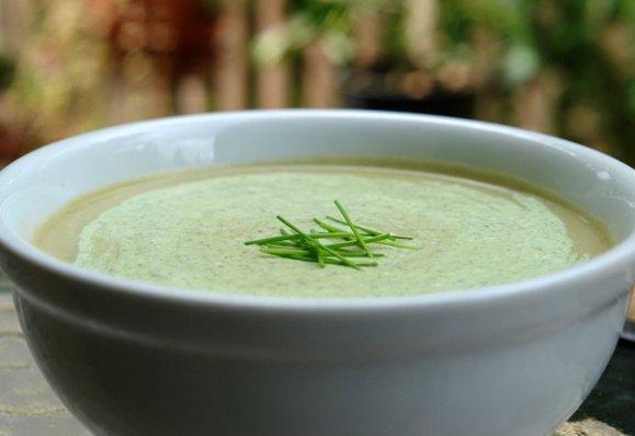 Супы - холодные, летние, полезные Soup-leek