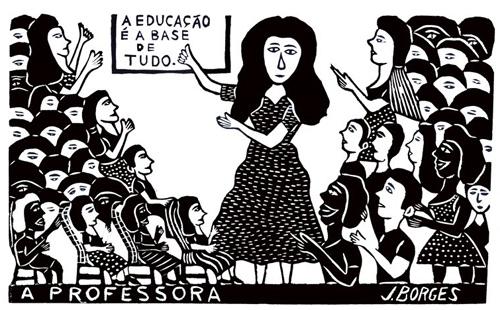 La poesía de Cordel en Nordeste de Brasil Borges
