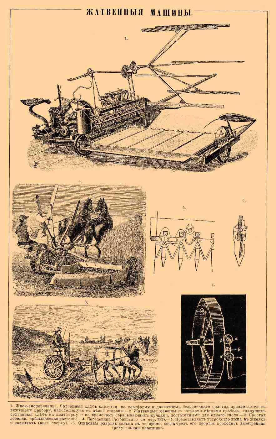 Различные модификации плуга в фотографиях и гравюрах EncyclopediyaRU-22_730-0
