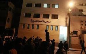 إحباط محاولة اقتحام مبنى مديرية أمن الغربية نفذها أقارب متهمين 2012-634709785564408324-440_main_thumb300x190