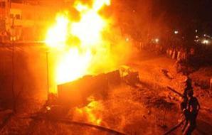 السيطرة على حريق بمحلات تجارية في العباسي الجديد بالمحلة الكبري 2012-634781566283911846-391_main_thumb300x190