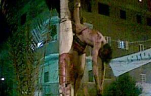 الأهالي يُمثّلون بجثث 4 لصوص سيارات ويعلقونها على أعمدة الكهرباء في قرية بالشرقية 2012-634813120893468794-346_thumb300x190