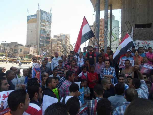 بالصور.. الآلاف يشاركون في مسيرات بالمحلة الكبرى للمطالبة بإسقاط النظام 2013-635080335311027403-102