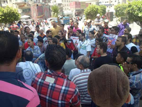 بالصور.. الآلاف يشاركون في مسيرات بالمحلة الكبرى للمطالبة بإسقاط النظام 2013-635080335311495394-149