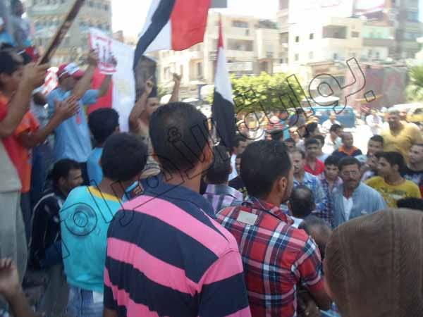 بالصور.. الآلاف يشاركون في مسيرات بالمحلة الكبرى للمطالبة بإسقاط النظام 2013-635080335312743370-274