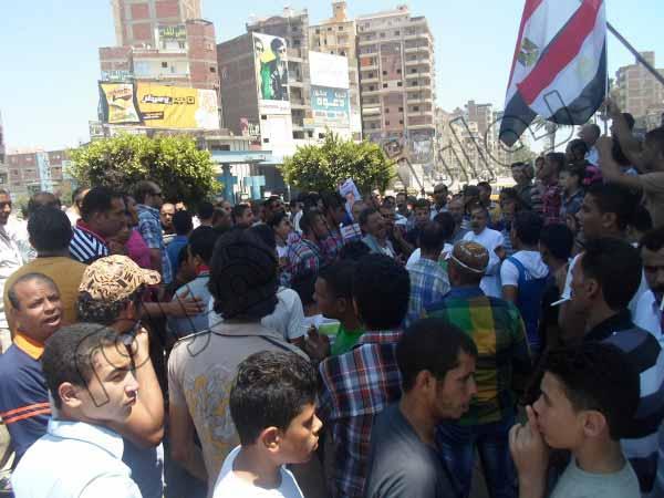 بالصور.. الآلاف يشاركون في مسيرات بالمحلة الكبرى للمطالبة بإسقاط النظام 2013-635080335313835349-383