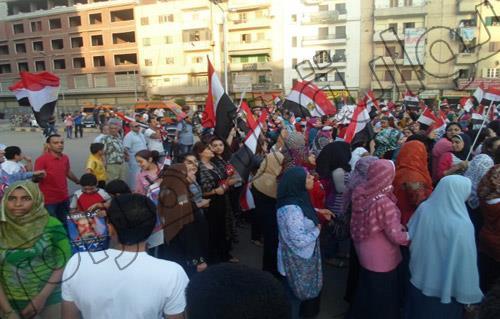 """.. تظاهر الآلاف في ميدان الشون بالمحلة.. وسط هتافات """"قول ما تخفشي مرسي لازم يمشي"""" 2013-635083104944093966-409_main"""