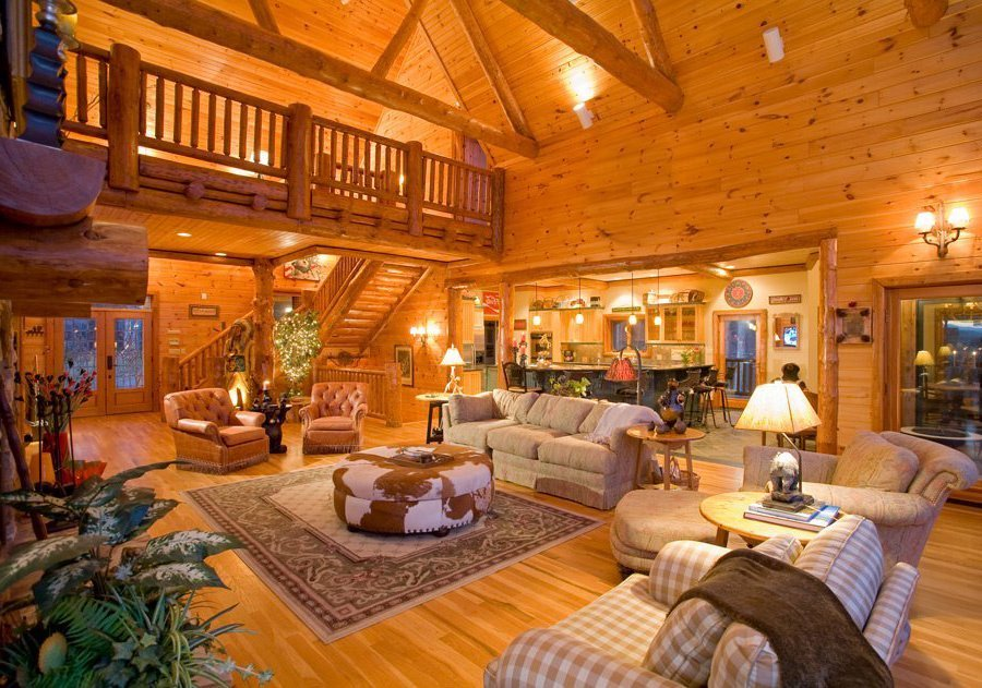 The United States of the Solar System: A.D. 2133 (Book Two) Luxury_smoky_mountains_cabin1