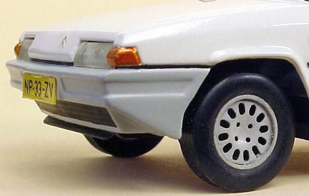 Citroën BX - Jetcar de Norev Citroenbxpaul-voorbumper
